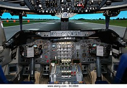 Jumbo Jet Flight Deck