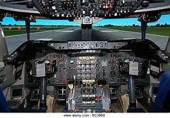 Jumbo Jet Flight Deck