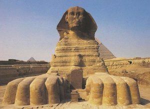Egypt ToursSphinx-stele_erosion3