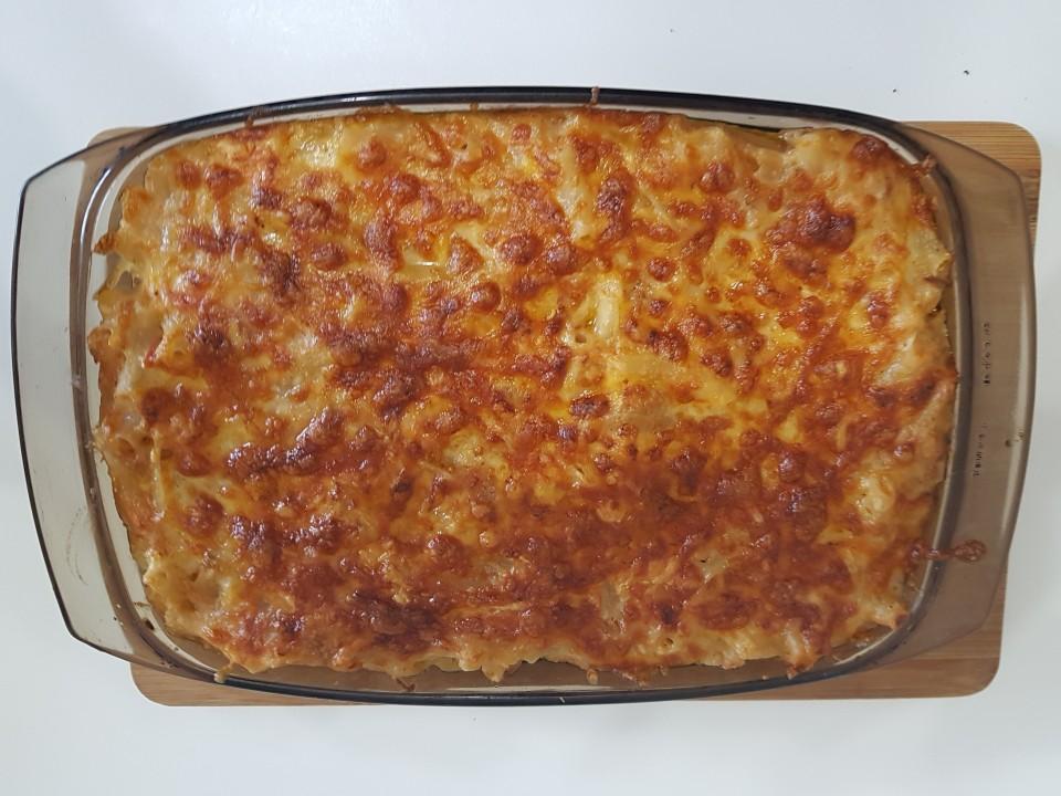 Neelie's Tuna and Macaroni Pasta for Two.