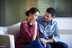 Husband Comforting